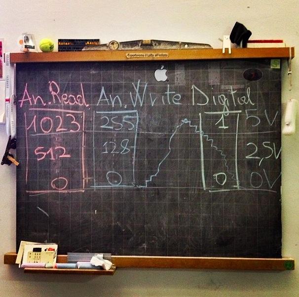 Arduino workshop - Foto di Alessandro Contini